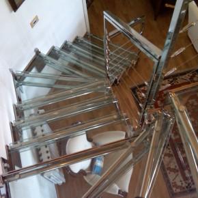 Dimensioni e ingombri delle scale da interno