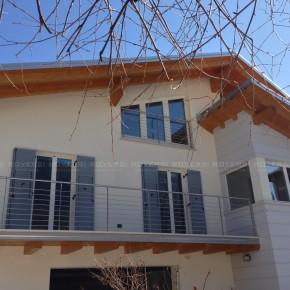 Balaustre in acciaio per balconi