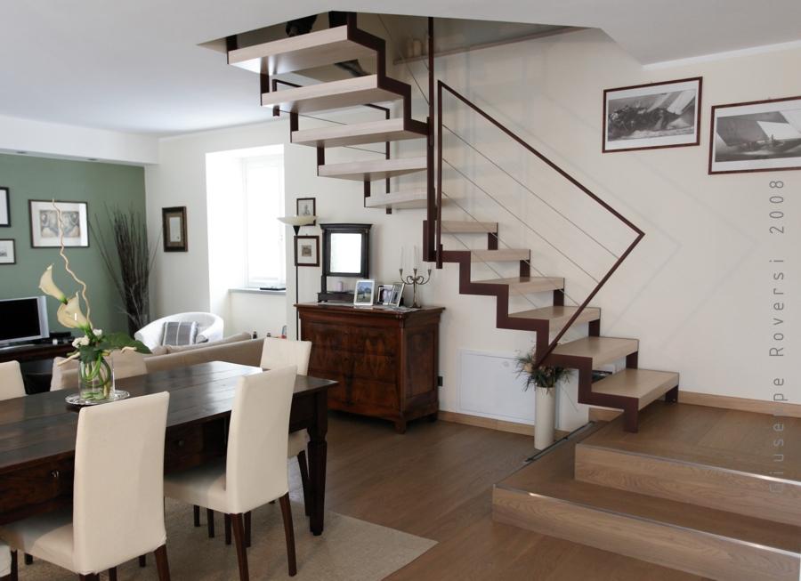 Evoluzione e tendenze di design nelle scale interne il blog di roversi scale - Tipologia di scale ...
