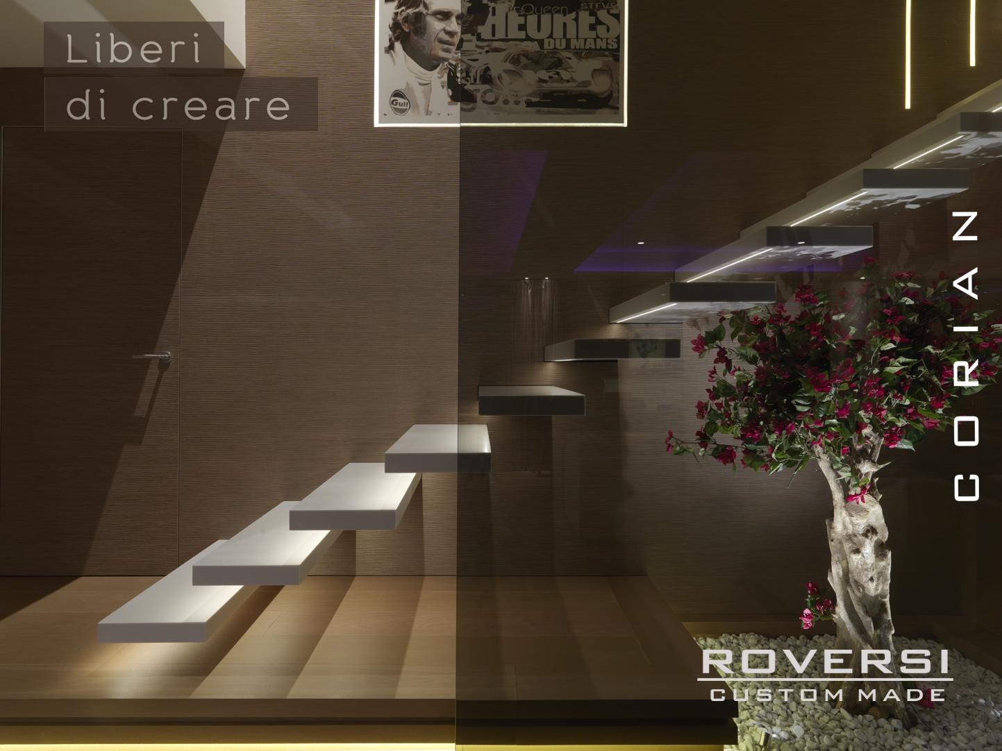 Scala in corian - Scale di design ...