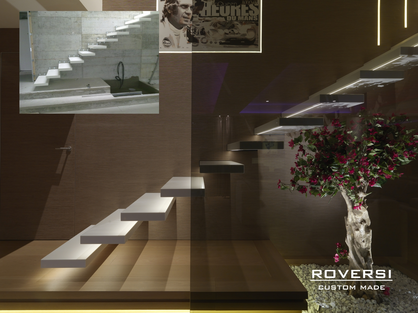 Scale a sbalzo e scale autoportanti cosa c 39 da sapere - Scale di design ...