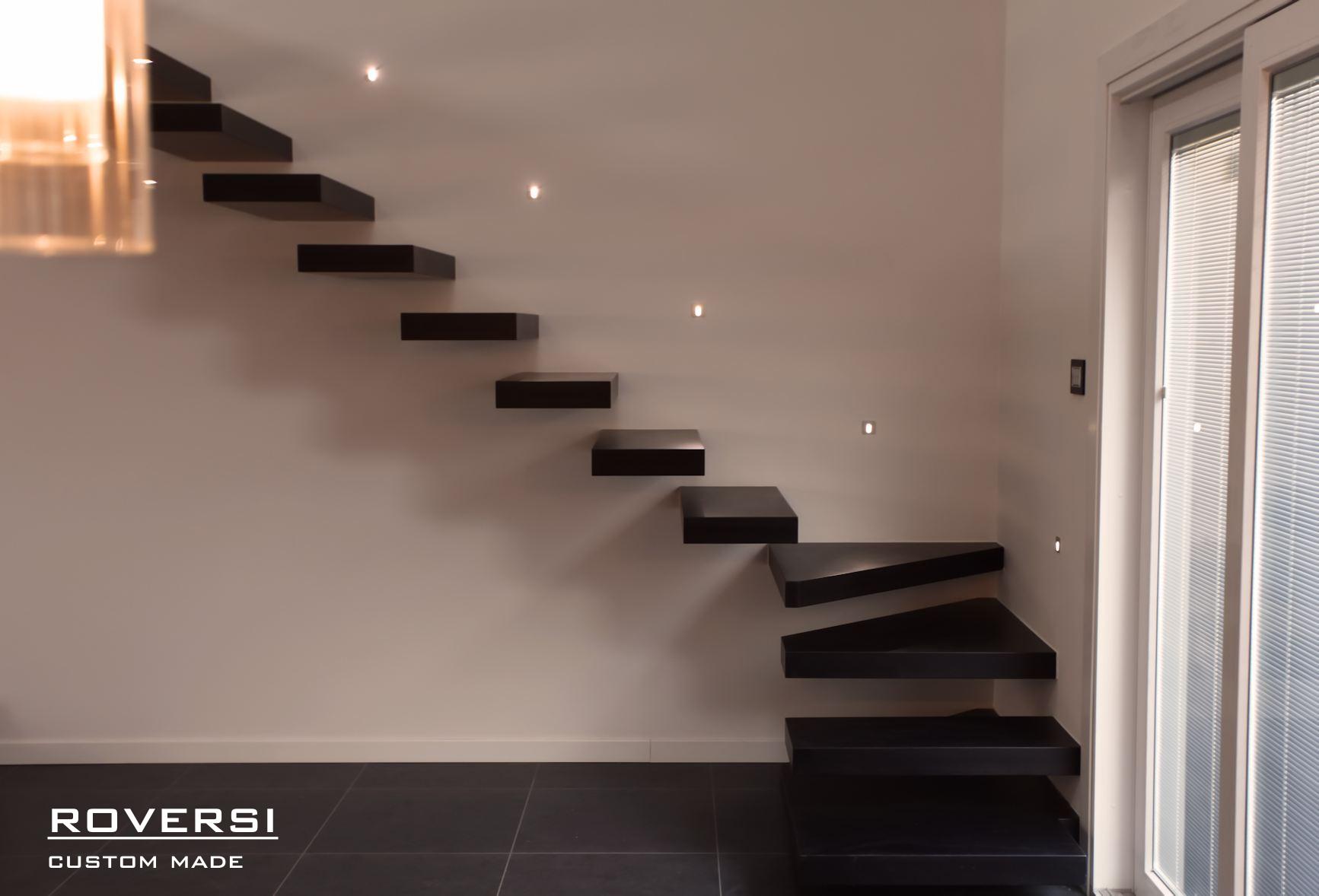 Scala a sbalzo murata il blog di roversi scale - Immagini di scale ...