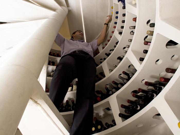 Wine Cellar In Kitchen Floor Video