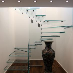 Il vetro nelle scale